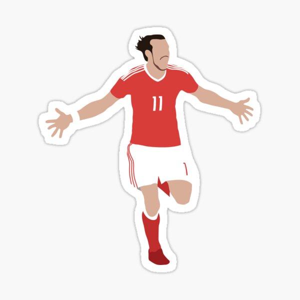 Gareth Bale Stickers Redbubble