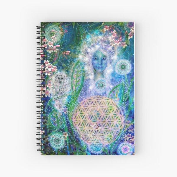 Shaman nights Spiral Notebook