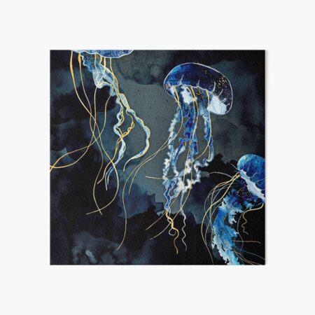 Metallic Ocean III Art Board Print