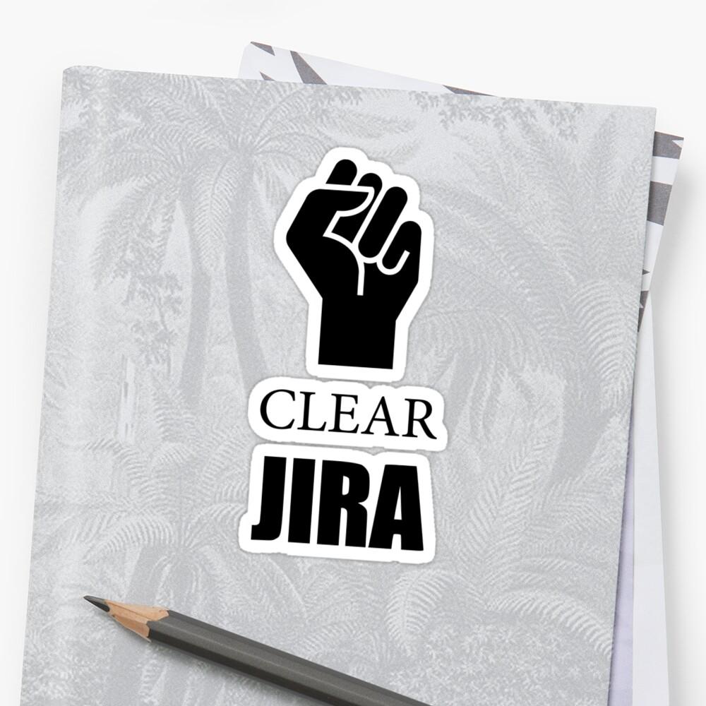 Clear Jira by achristoffersen