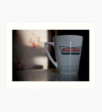 Krispy Kreme Art Print