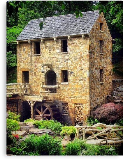 The Old Mill - Pugh's Mill 1832 by Gregory Ballos