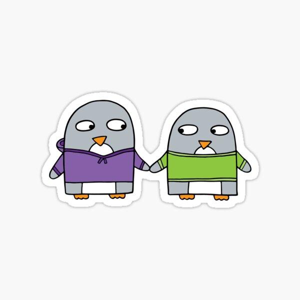 Best Friend penguins Sticker
