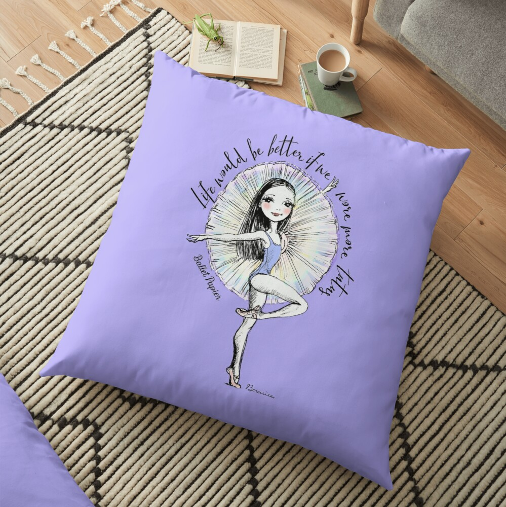 More Tutus Floor Pillow