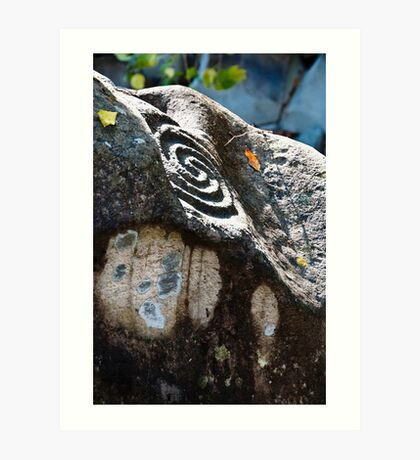 Altavista Petroglyphs Art Print