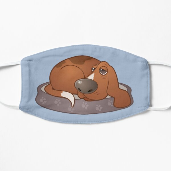 Sleepy Hound Dog Mask