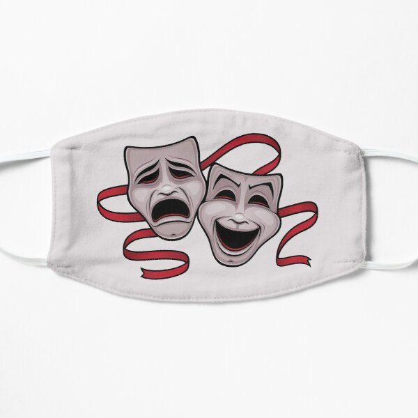 Comedy And Tragedy Theater Masks Mask