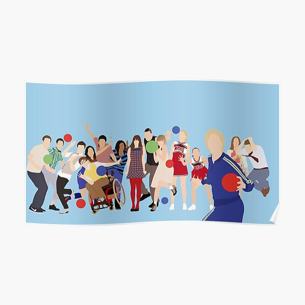 Glee Characters Poster