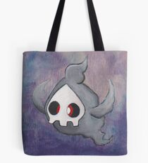 Pokemon Painting - Duskull Tote Bag