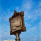 Old Sign Post in Ostranto by Rebecca Dru