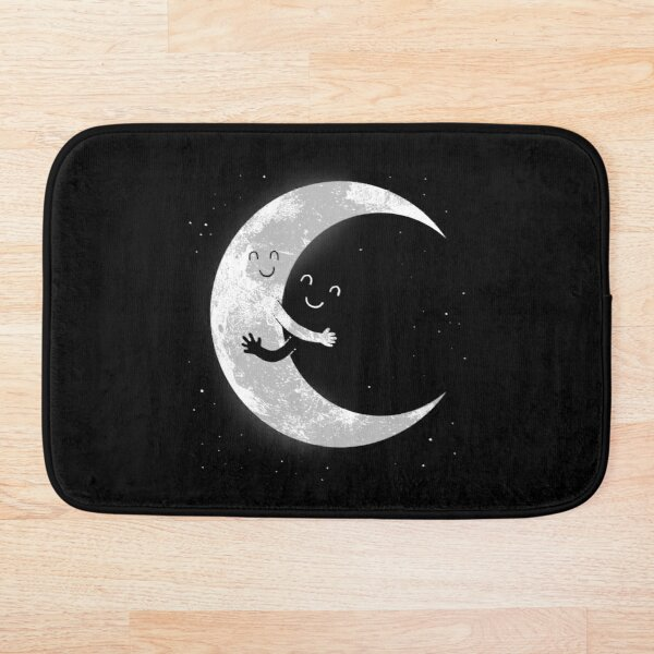 Moon Hug Bath Mat