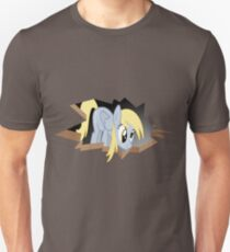 Derpy Hooves breaking out Unisex T-Shirt