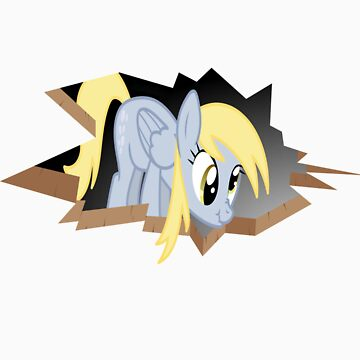 Derpy Hooves breaking out by KittyLover