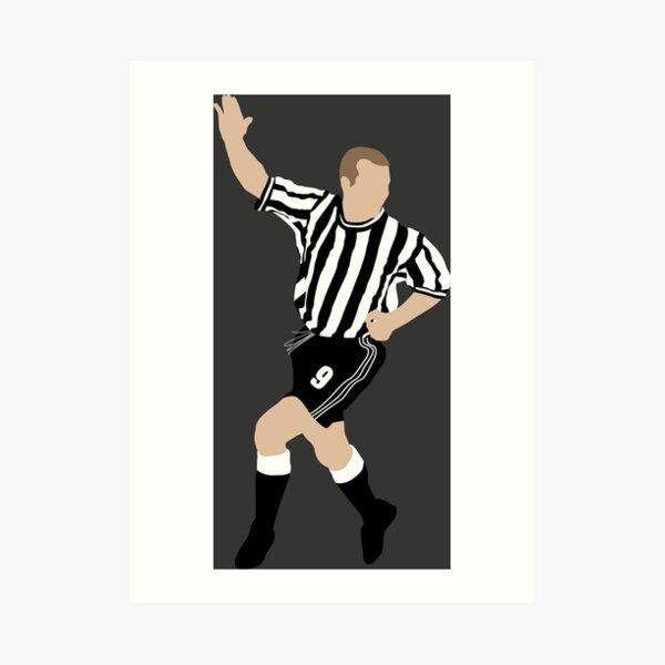 Alan Shearer. Newcastle FC. Art Print