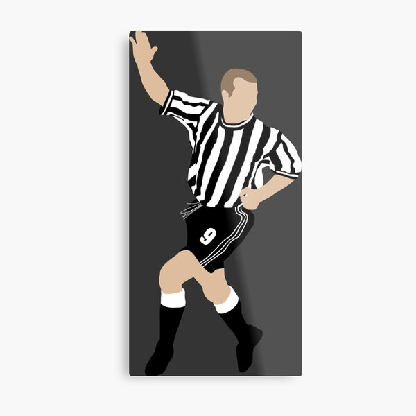 Alan Shearer. Newcastle FC. Metal Print