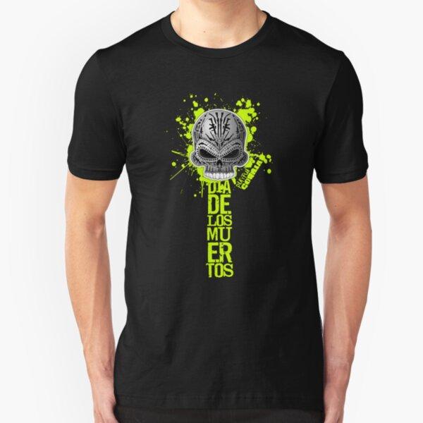 Dia De Los Muertos Slim Fit T-Shirt