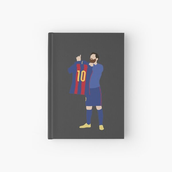 Lionel Messi. Barcelona. Hardcover Journal