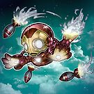Lil Iron Dude by Tim  Shumate