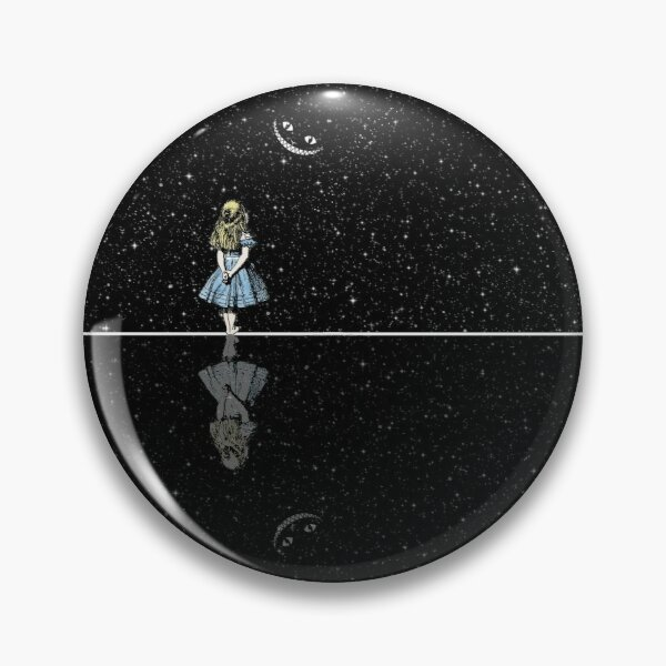 Alice In Wonderland Starry Night Pin