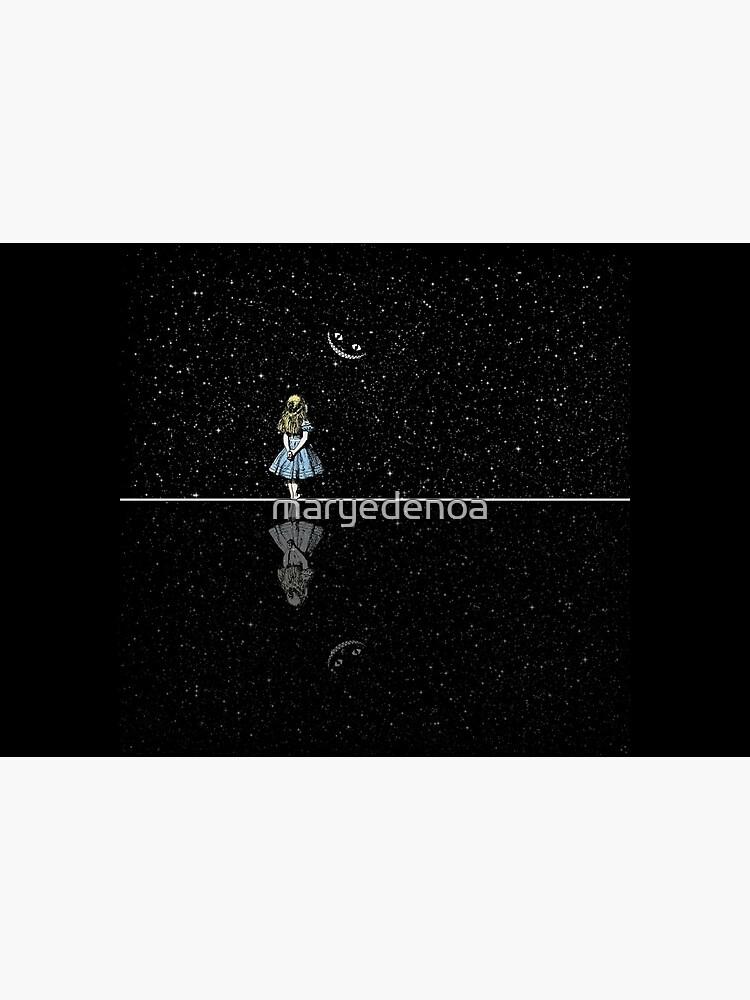 Alice In Wonderland Starry Night by maryedenoa