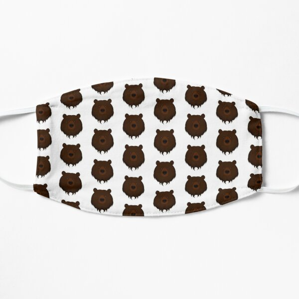 Grizzly Bear Flat Mask