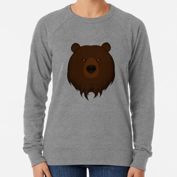 Grizzly Bear Lightweight Sweatshirt