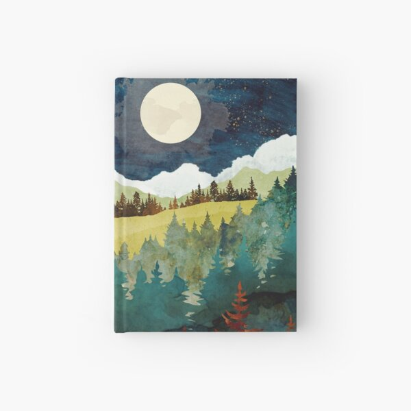 Autumn Moon Hardcover Journal