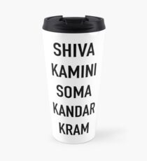Taza de viaje Shivakamini Somakandarkram - La Liga, el Taco, Shiva Blast