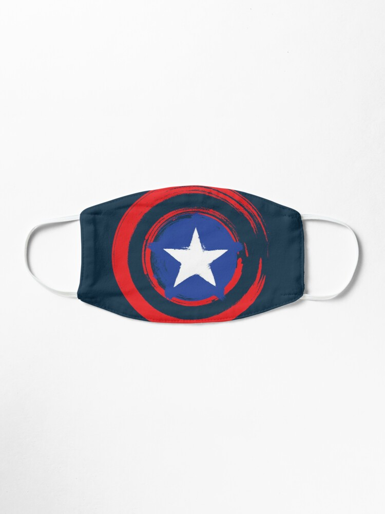Alternate view of AMERICAN CAPTAIN Mask