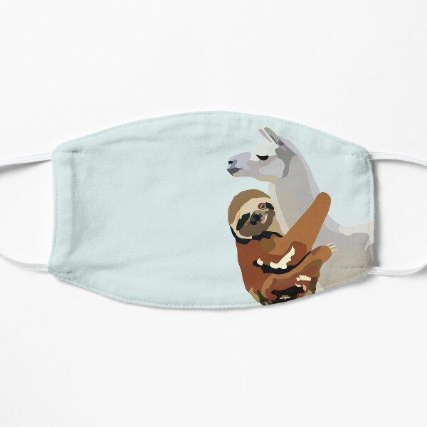 Sloth Llama Flat Mask