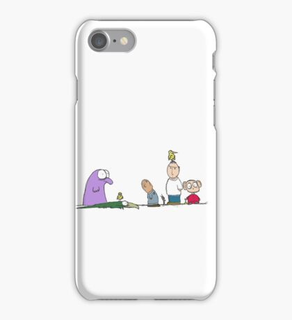 You have a bird on your head iPhone Case/Skin