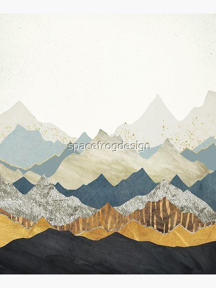 Distant Peaks by spacefrogdesign
