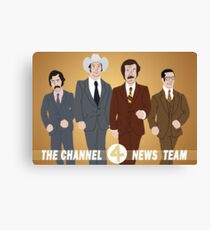 The Channel 4 News Team Canvas Print