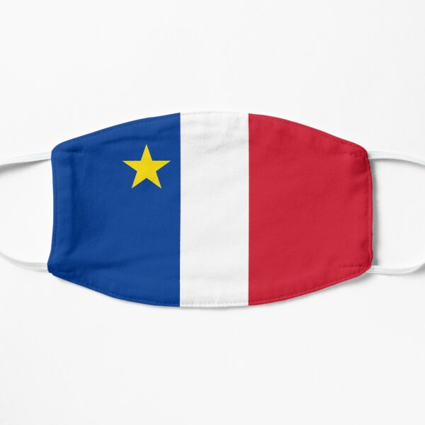 Acadie Acadia Flag blue white red North American New Brunswick Acadian French Canada HD Mask