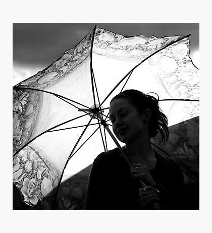 sunshine & silhouettes Photographic Print