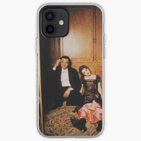 aesthetic rose and jack titanic iPhone Soft Case