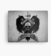 Winged Avengers Metal Print