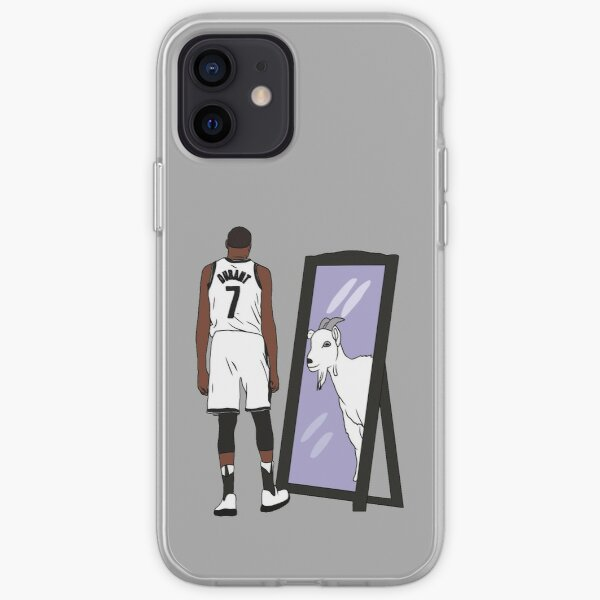 Kevin Durant Mirror GOAT (Nets) iPhone Soft Case