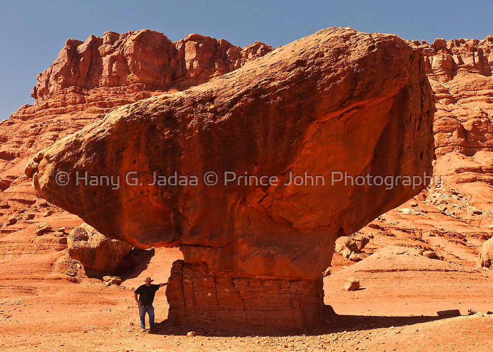 Vermillion Cliffs - 5 - Hold The Rock ©  by © Hany G. Jadaa © Prince John Photography
