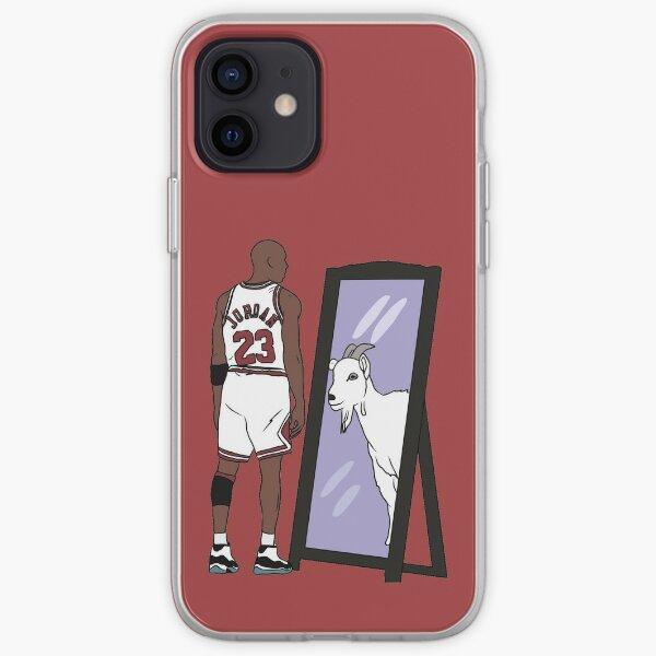 Michael Jordan Mirror GOAT iPhone Soft Case