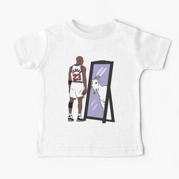 Michael Jordan Mirror GOAT Baby T-Shirt