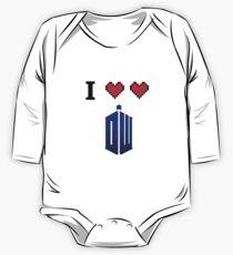 I love love Doctor Who One Piece - Long Sleeve