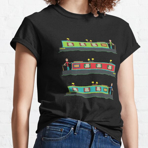 Narrowboat Classic T-Shirt