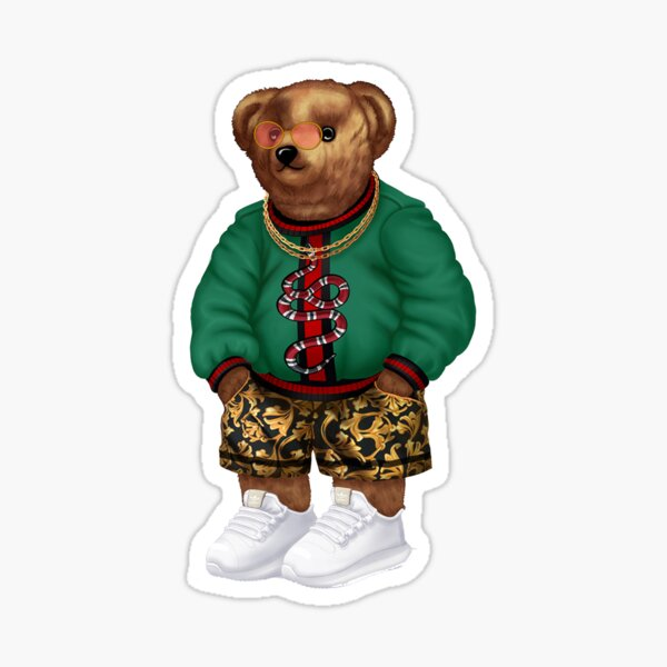 swag bear Sticker