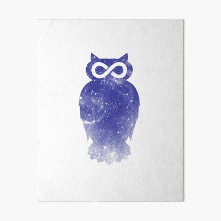 Owlfinity II Art Board Print