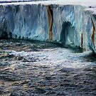 The Brasvellbreen Glacier by John Dalkin