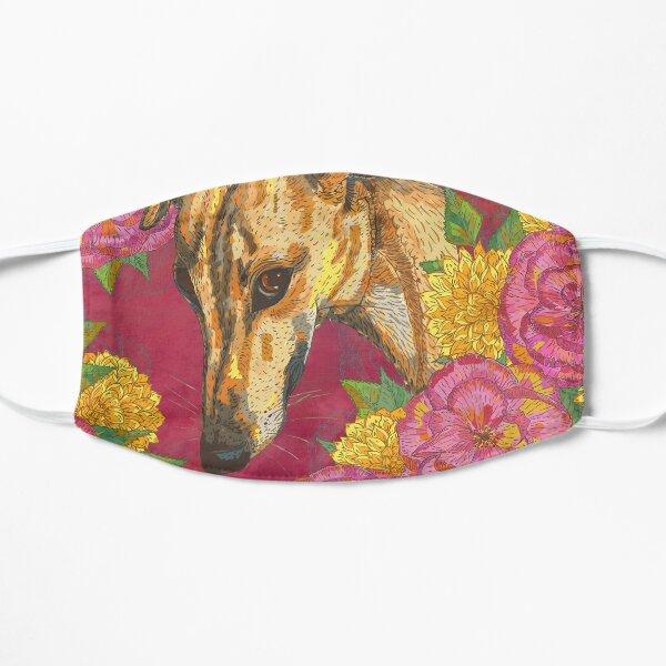 Floral Greyhound Girlies Mask