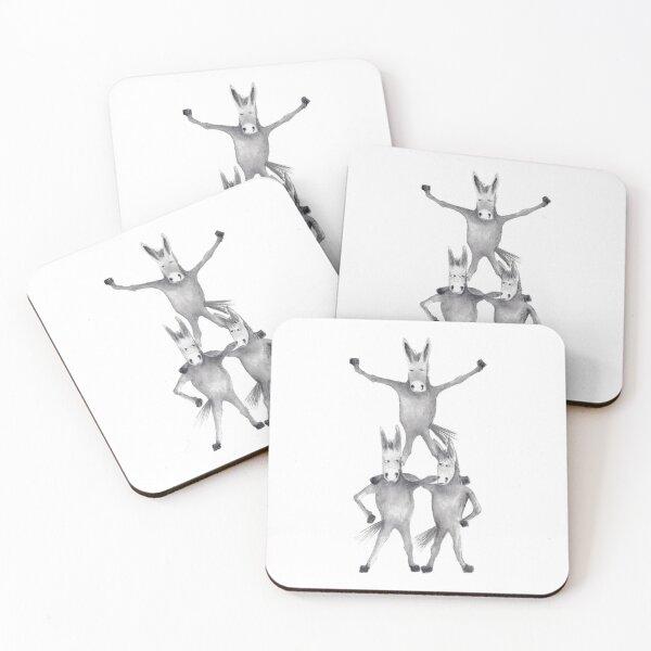 The Athletic Donkeys Coasters (Set of 4)