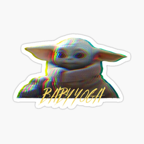 BABY YOGA Sticker