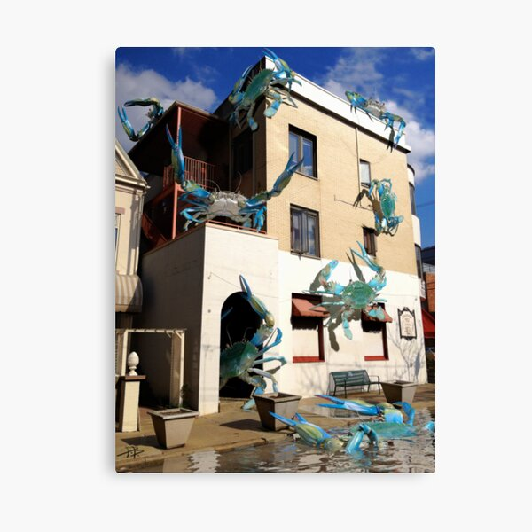Ocean Invasion #12: We've Got Crabs Canvas Print